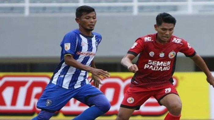 Hasil Semen Padang vs PSPS Riau di Liga 2 Indonesia : Bangkit, PSPS Tahan Imbang Kabau Sirah