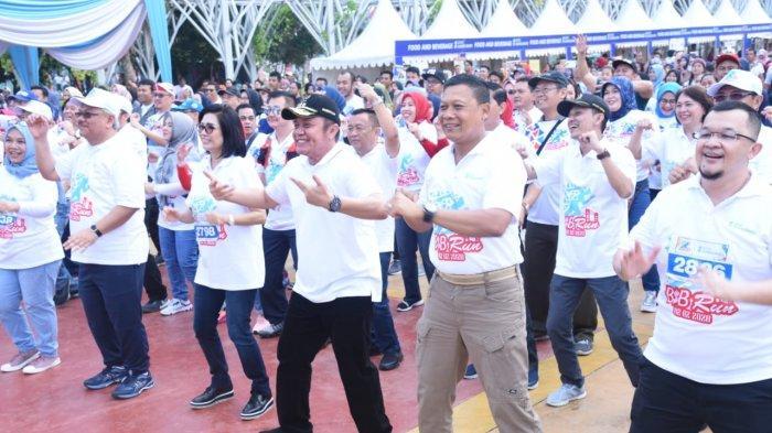 Murah dan Populer, HD Yakin Sriwijaya Run Masuk Kalender Olahraga Nasional