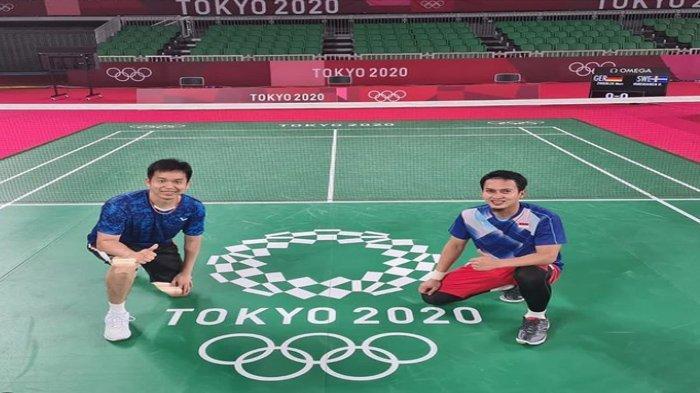 Head to Head Ahsan/Hendra vs Sonoda/Kamura, di Perempat Final Ganda Putra Bulutangkis Olimpiade 2020