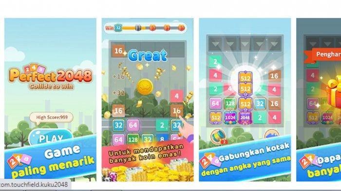 Heboh Aplikasi Game Perfect 2048 Penghasil Uang 2021, Pengguna Keluhkan Uang Tidak Dikirim-kirim