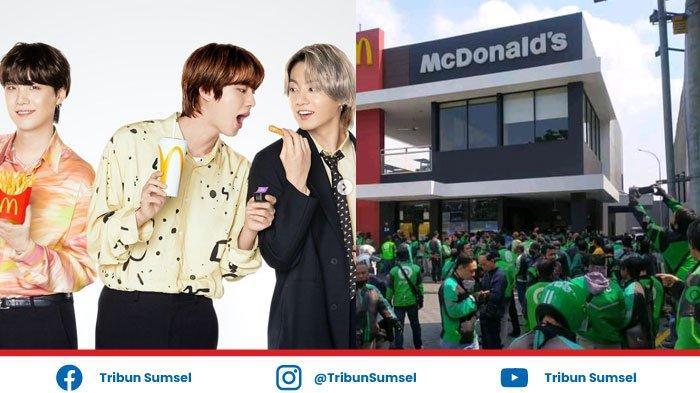 Viral, Antrian Panjang Driver Online Gegara Promo BTS Meal McDonald's, Apa itu BTS Meal ?