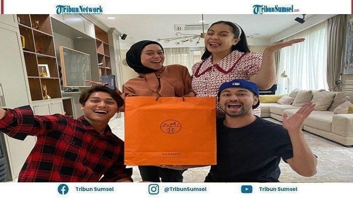 Nagita Slavina Tertawa dengar Pengakuan Jujur Rizky Billar dan Lesti Kejora Saat di Kamar Mandi