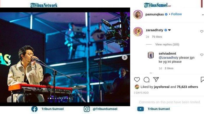 Zara Adhisty Bikin Heboh Warganet Hingga Banjir Protes Saat Beri Ini di Kolom Komentar IG Pamungkas