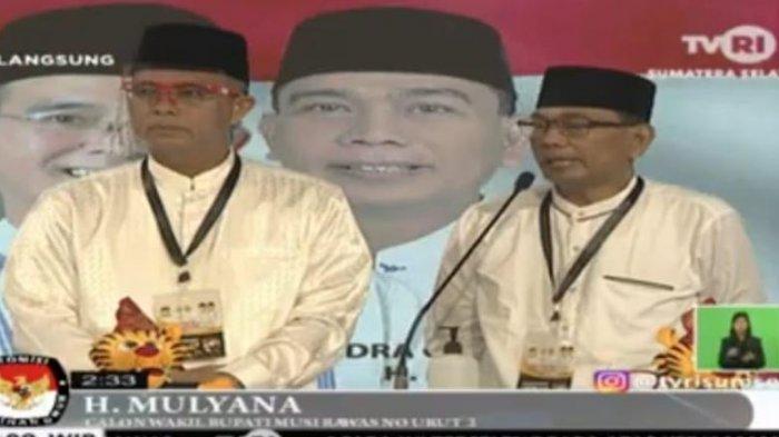 Hendra-Mulyana Prioritaskan Pendidikan, Ratna-Suwarti Absen Didebat Pertama Pilkada Musirawas