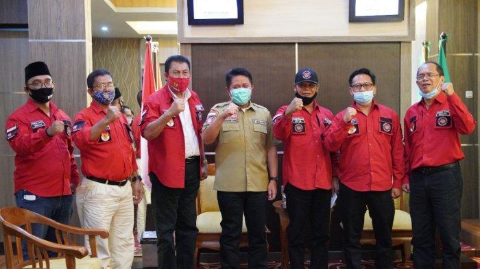 Gubernur Herman Deru Ingin DPD Pemuda Batak Bersatu Bersinergi Wujudkan Sumsel Maju