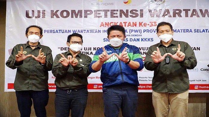 Buka Uji Kompetensi Wartawan, Herman Deru: Jadilah Wartawan Berintegritas
