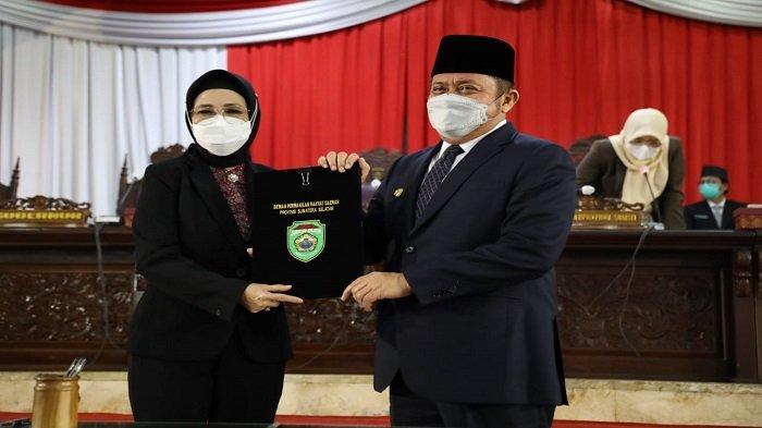 DPRD Setujui Perda Pertanggungjawaban Pelaksanaan APBD Provinsi Sumsel TA 2020