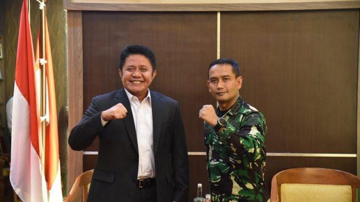Herman Deru Minta Danlanal Kawal Pengembangan Maspari dan TPI Sungsang