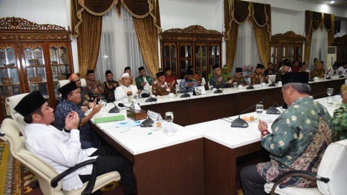 Gubernur Herman Deru Ajak PWNU Kolaborasi, Perangi Kemiskinan di Sumsel