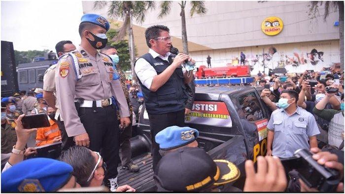 Temui Peserta Aksi Solidaritas Buruh di DPRD Sumsel, Gubernur Sumsel Beri Secercah Harapan