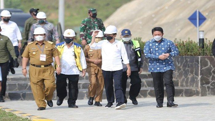 Dampingi Kunker Presiden Jokowi, Herman Deru Yakin Bendungan Tiga Dihaji Segera Rampung