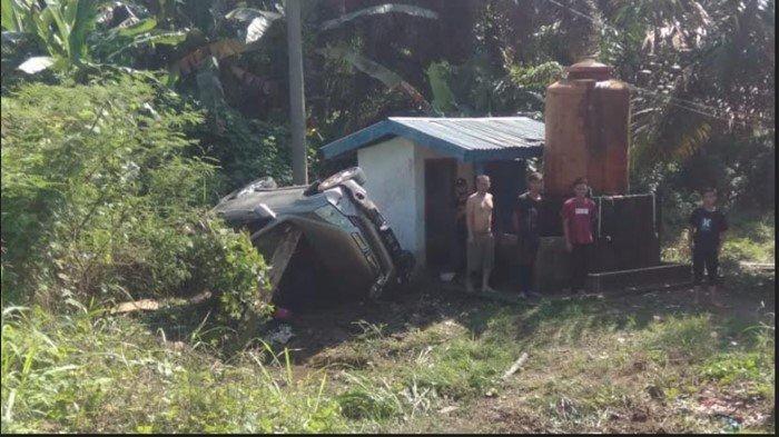 Kecelakaan di Jalinsum Muratara, Diduga Hindari Tabrakan Honda CR-V Keluar Jalur, Sopir Masih Sadar