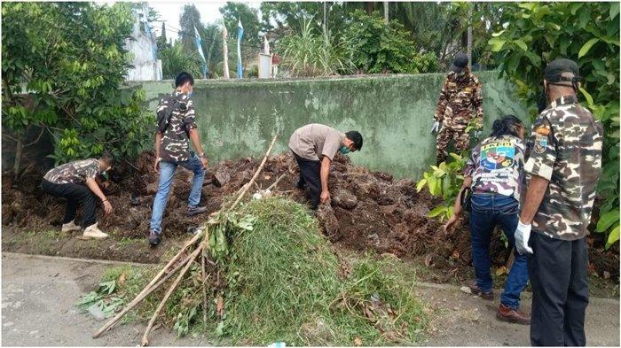 Rayakan HUT ke-43, FKPPI Muara Enim Gotong Royong, Juga Doakan Muzakir Sai Sohar