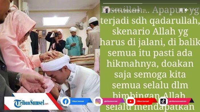 Postingan Ibu Taqy Malik di Instastory Dibalik Kasus Mansyardin dan Istri Siri, 'Ambil Hikmahnya'