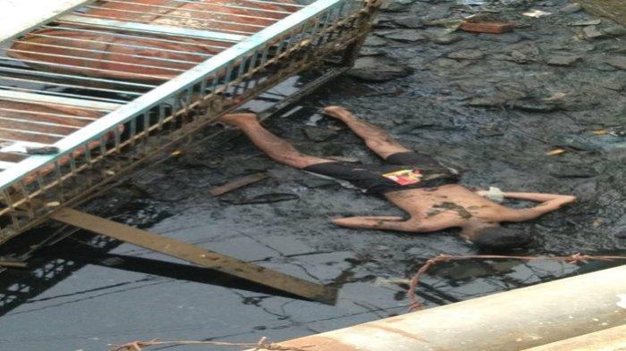 BREAKING NEWS : Identitas Mayat Pria di Bawah Jembatan Karang Jalan Merdeka depan Kantor Walikota