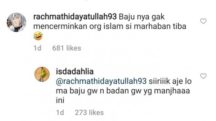 Iis Dahlia Anggap Warganet Yang Mengkomentari Penampilannya Terbukanya bersikap Sirik