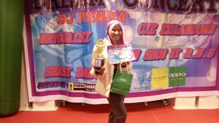 Siswi Madrasah Aliyah Negeri 1 Palembang Raih Juara 2 Dream Concert