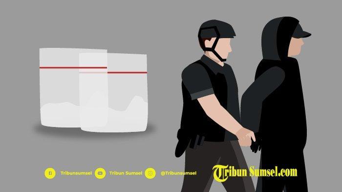 Ban Motor Pecah Setelah Transaksi Sabu, Dua Pemuda di Prabumulih Ini Diringkus Polisi