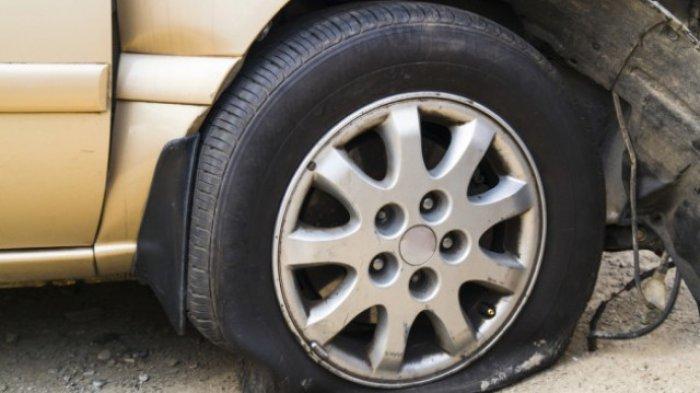 Tips Hentikan Mobil Saat Pecah Ban Agar Terhindar dari Kecelakaan