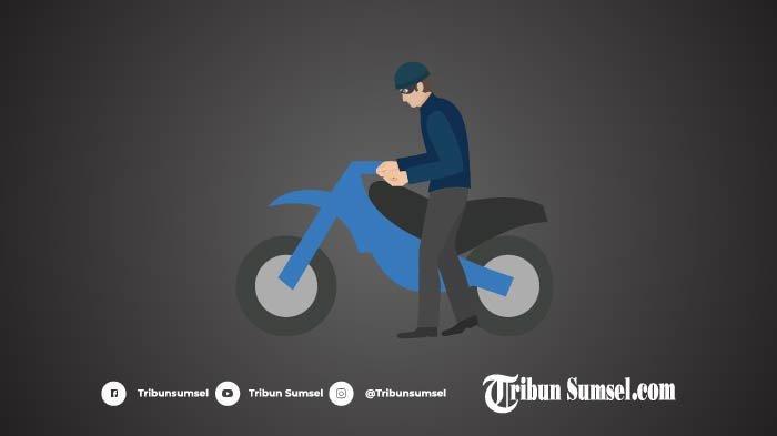 Ilustrasi Pencurian Maling Motor