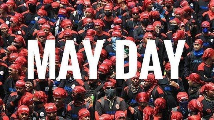 Ilustrasi Peringatan Hari Buruh, May Day.