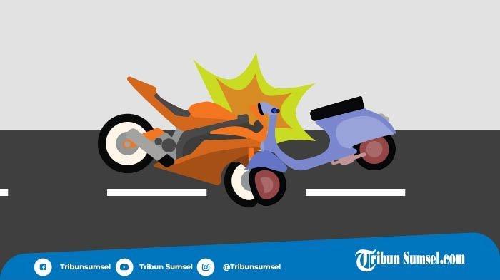 Kecelakaan Maut 2 Sepeda Motor di Kayuagung, Satu Pengendara Tewas di Tempat