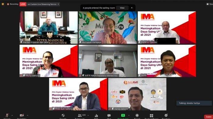 IMA Chapter Webinar Series: Meningkatkan Daya Saing UKM di 2021