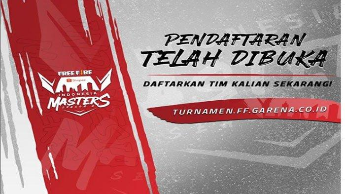 Turnamen Terbesar Free Fire Bertajuk Indonesia Masters, Segera Daftar Kuota Terbatas
