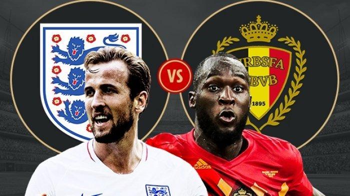 Nonton Live Streaming Piala Dunia Inggris Vs Belgia di HP via Indosat, XL dan Telkomsel