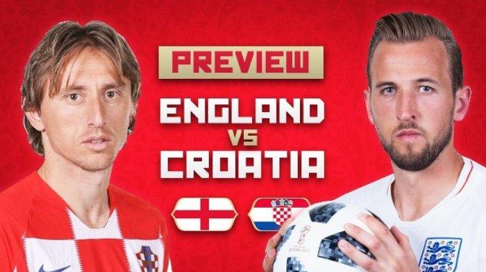 Prediksi Inggris Vs Kroasia Piala Dunia 2018 - Harap Cemas Kroasia Pada 2 Pemainnya yang Cedera