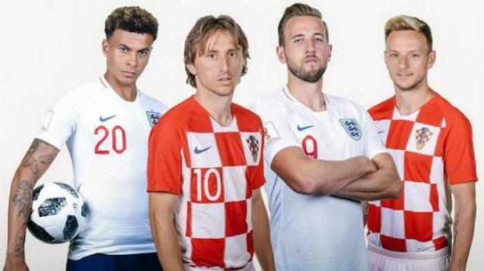 Prediksi Inggris vs Kroasia di Piala Dunia 2018 -  Misi Untuk Matikan Harry Kane