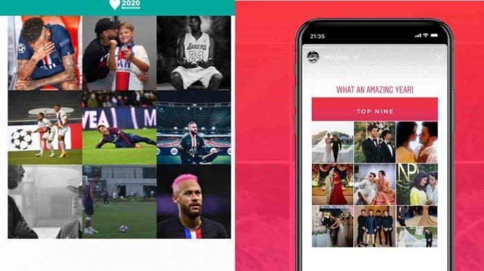 Ini 3 Link Untuk Membuat Best Nine 2020 Instagram di HP Android dan IOS