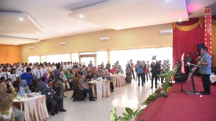Gubernur Herman Deru Tantang 139 SMK se Sumsel Ciptakan Booster Sinyal  untuk Bantu Petani