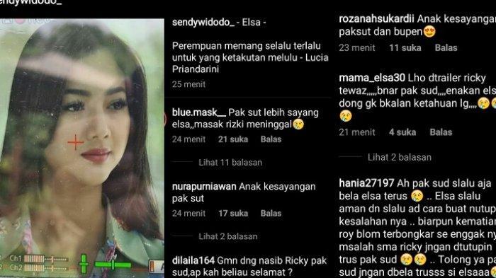 Instagram Sendy Widodo ramai kritikan usai pajang wajah Elsa