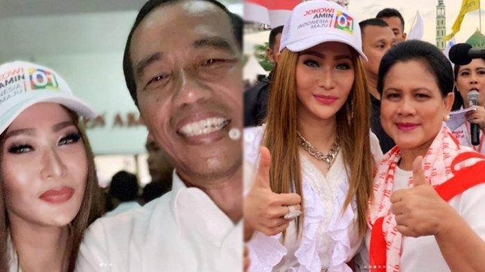 Doa Inul Daratista Buat Presiden Jokowi Saat Kampanye Akbar di Banjarmasin, Ancam Haters Julid