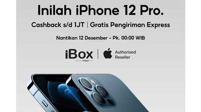 iPhone 12 Pro di iBox Promo Shopee 12.12 Cashback 1 JT, Ini Cara Ikutan Pre-Order