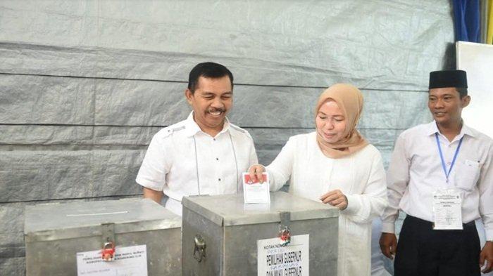Hasil Penghitungan Suara DPR RI Asal Sumsel : Ishak Mekki Menang di TPS Tempatnya Mencoblos