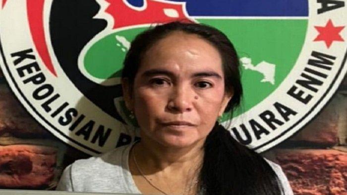 Sembunyikan 39 Paket Sabu di Kontrakan Tanah Abang Muaraenim, IRT Pasrah Bekuk Polisi