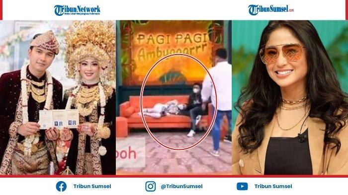 Istri Aldi Taher Murka, Heboh Dewi Perssik Tiduran di Pangkuan Sang Suami: Hargai Aku Kak