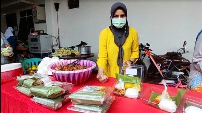 Pasien Isoman Lubuklinggau Dikirimi Masakan Istri Walikota Hj Yetti Prana, Lauknya Ayam Goreng