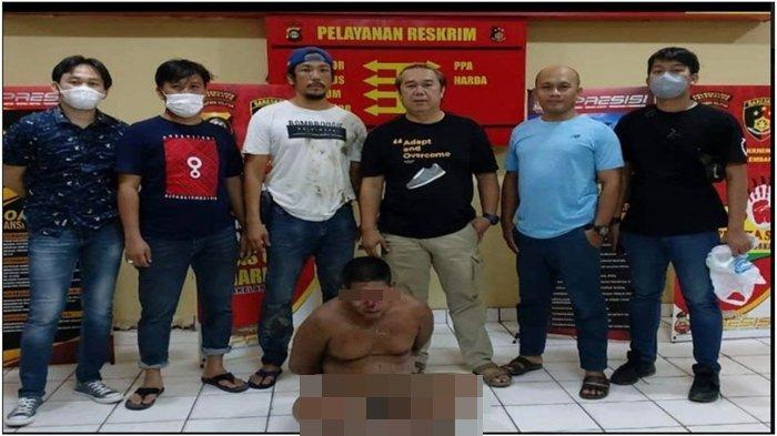 'Ampun, Pak. Ngaku Salah', Teriak Buronan Kasus Pencurian Pipa Pertamina Saat Diringkus Polisi