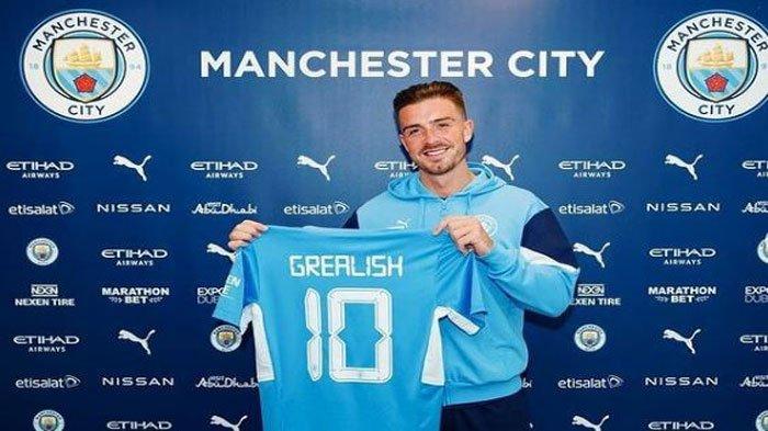 Daftar Skuad Pemain Manchester City Musim 2021/2022, Menanti Aksi Jack Grealish