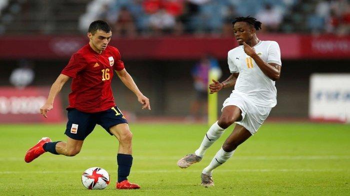 Jadwal Semifinal Sepakbola Putra Olimpiade Tokyo 2020, Spanyol vs Jepang, Meksiko vs Brasil