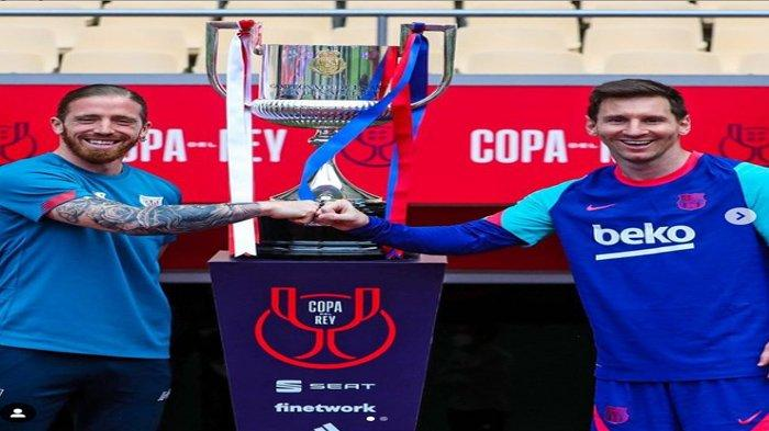 Jadwal Bola Malam Ini: Ada Final Copa Del Rey Athletic Bilbao vs Barcelona, VfL Wolfsburg vs Munchen