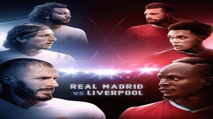Prediksi Susunan Pemain (Line Up) Real Madrid Vs Liverpool, Berlangsung Dini Hari Nanti