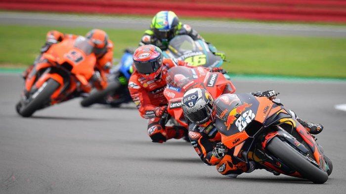 Jadwal, Link dan Cara Nonton Live Streaming MotoGP Seri Ke-12 Silverstone Inggris