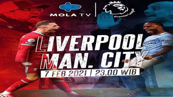 Jadwal Liga Inggris Malam Ini Liverpool Vs Manchester City : Duel Level Tinggi