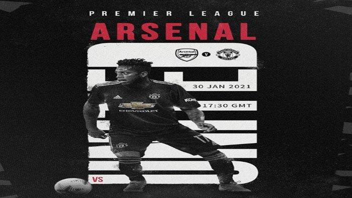 Jadwal Premier League Pekan ke-20 : Laga Klasik Arsenal vs Manchester United