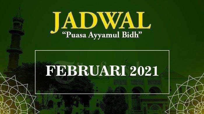 Puasa Ayyamul Bidh Bulan Rajab Hari Kamis 25 Februari 2021, Berikut Bacaan Niatnya Lengkap