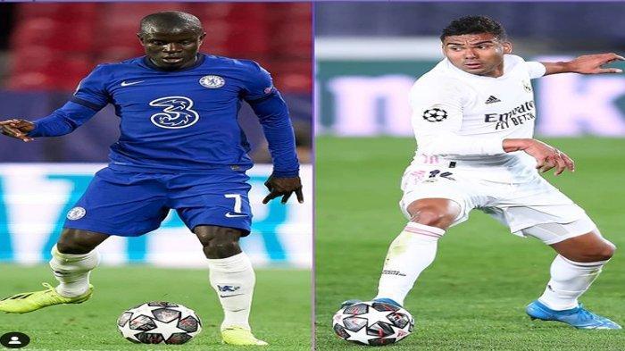 Jadwal Semifinal Liga Champions Malam Ini : Real Madrid vs Chelsea dan PSG vs Man City